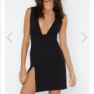 Nasty gal black dress